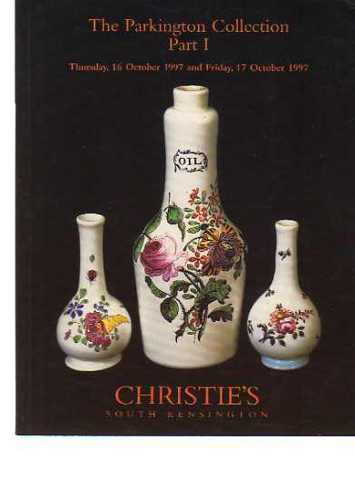 Christies 1997 The Parkington Collection Glass Part I