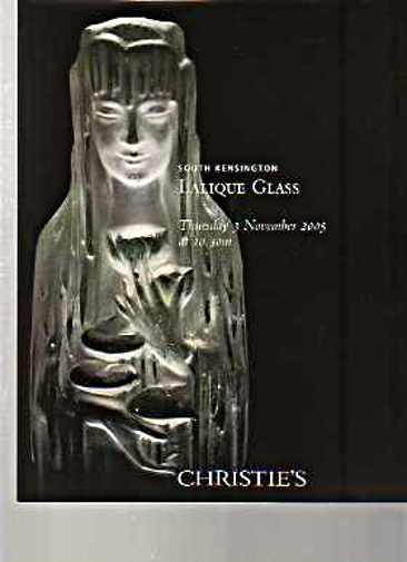 Christies 2005 Lalique Glass