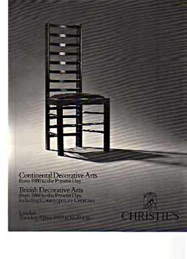 Christies 1993 British, European Decorative Arts Studio ceramics