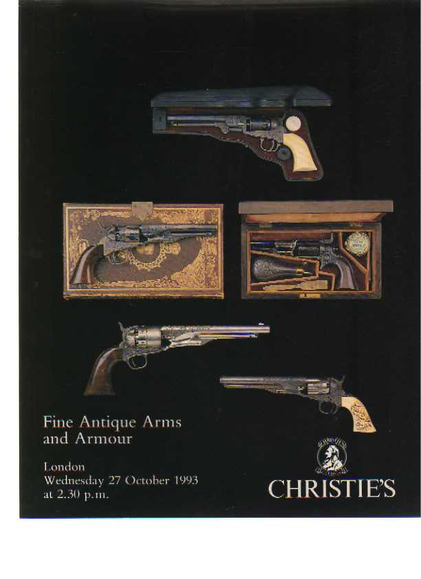 Christies 1993 Fine Antique Arms & Armour