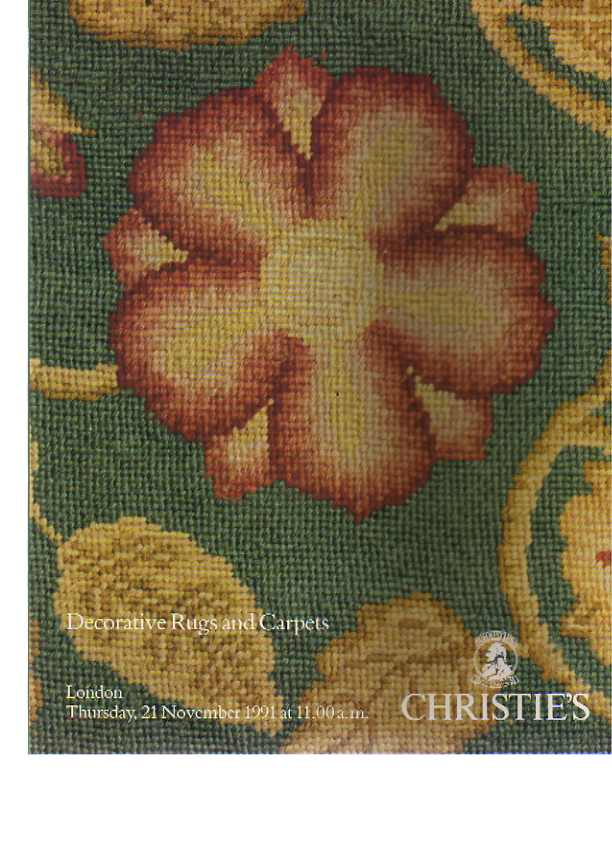 Christies 1991 Decorative Rugs & Carpets