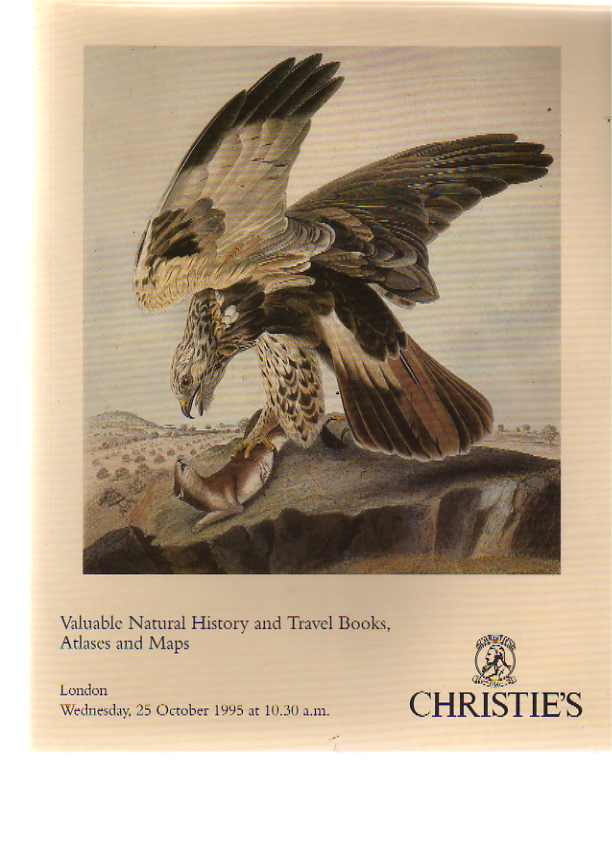 Christies 1995 Valuable Natural History & Travel Books, Atlases