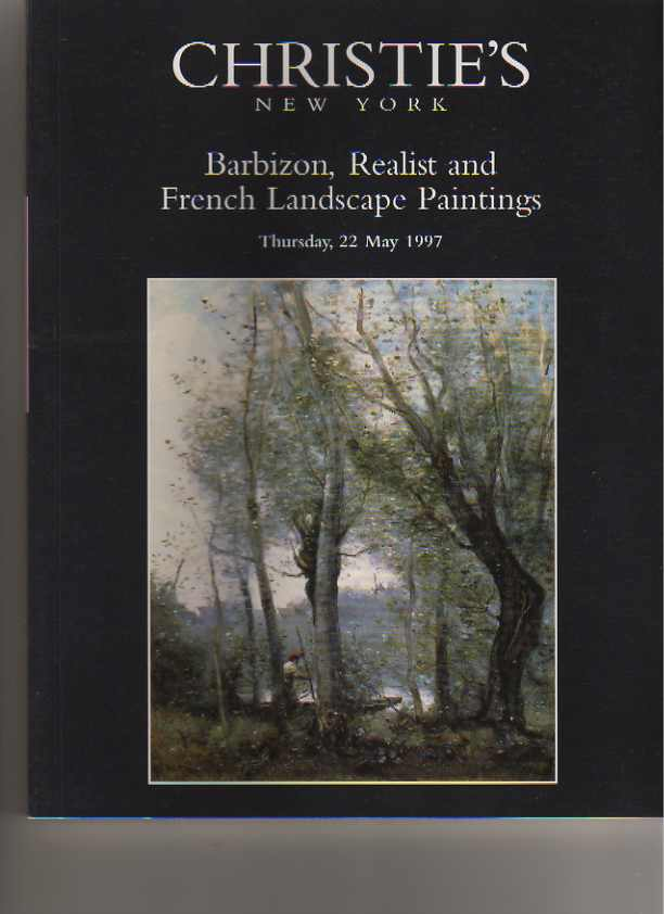 Christies 1997 Barbizon & French Landscape Paintings