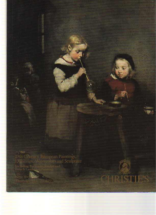 Christies 1991 Barbizon, French & European Paintings