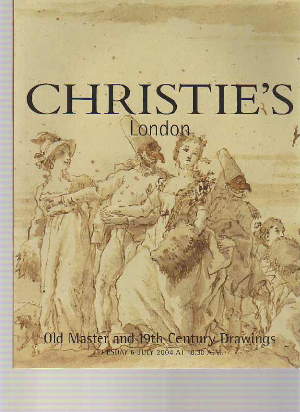 Christies July 2004 Old Master & 19th Century Drawings