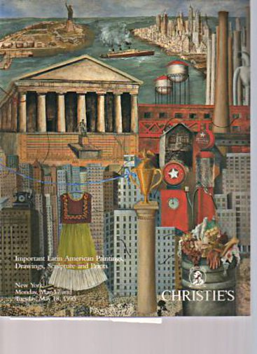 Christies 1993 Important Latin American Paintings, Drawings
