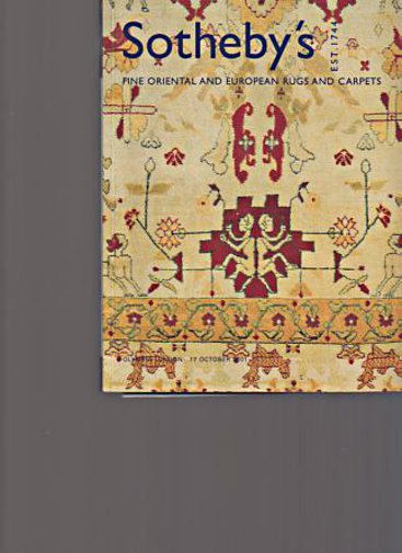 Sothebys 2001 Fine Oriental & European Rugs and Carpets