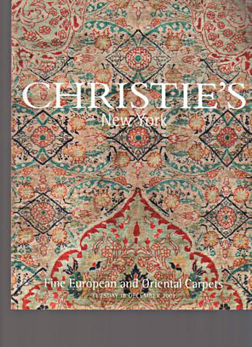 Christies December 2001 Fine European and Oriental Carpets
