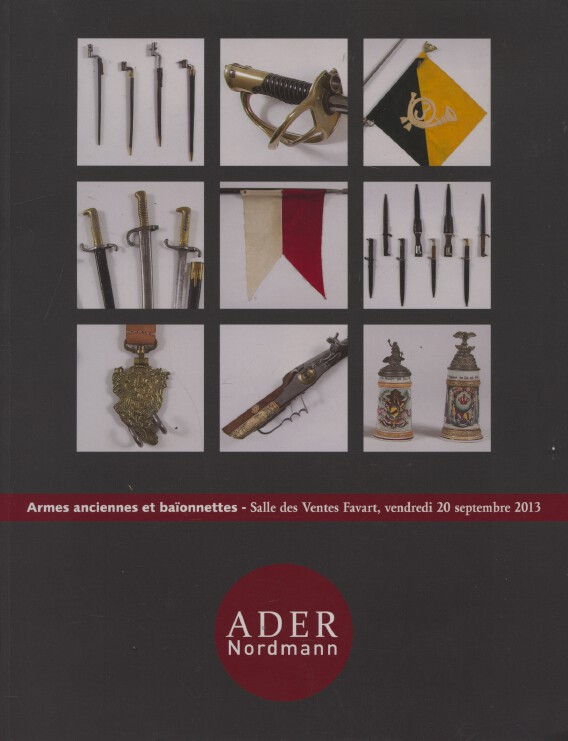 Ader Nordmann September 2013 Antique Arms and Bayonets - Bera Collection