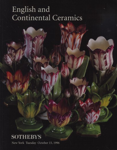 Sothebys October 1996 English and Continental Ceramics