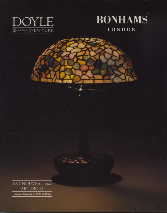 Bonhams October 1998 Art Nouveau and Art Deco