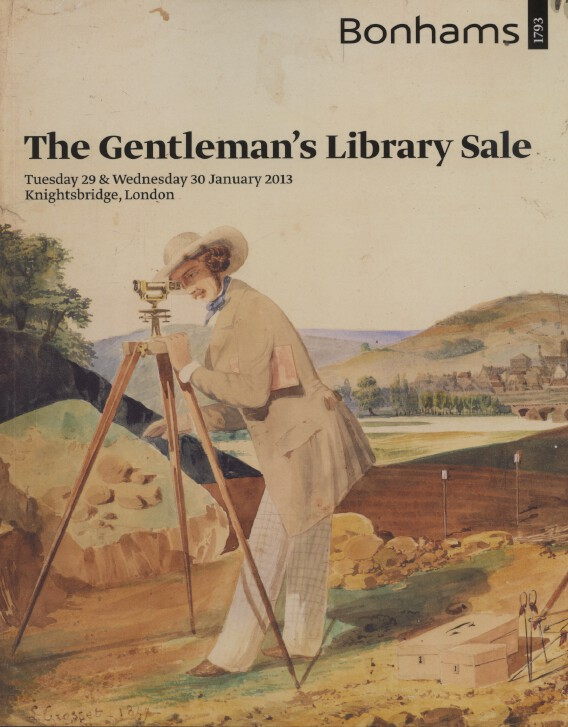Bonhams Jan 2013 Gentleman's Library Sale, Silver, Globes, Scientific Instrument