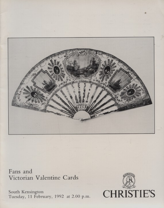 Christies February 1992 Fans and Victorian Valentine Cards