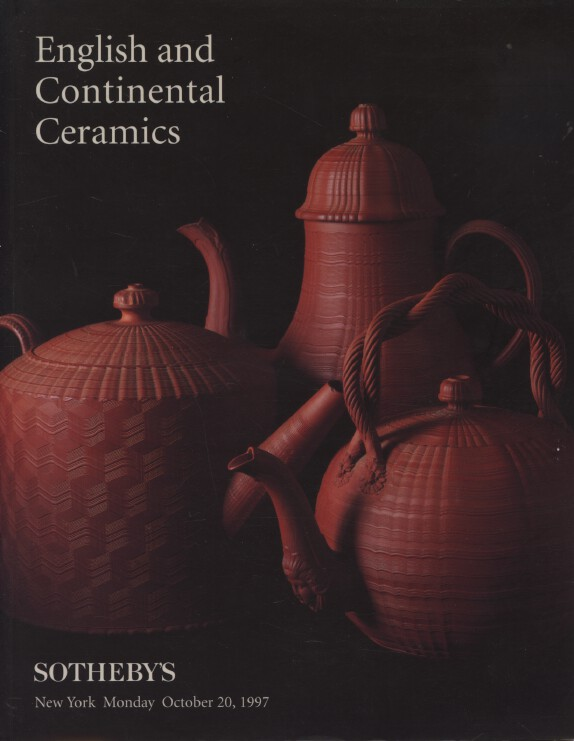 Sothebys October 1997 English and Continental Ceramics