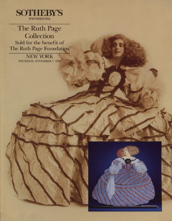 Sothebys November 1991 The Ruth Page Collection