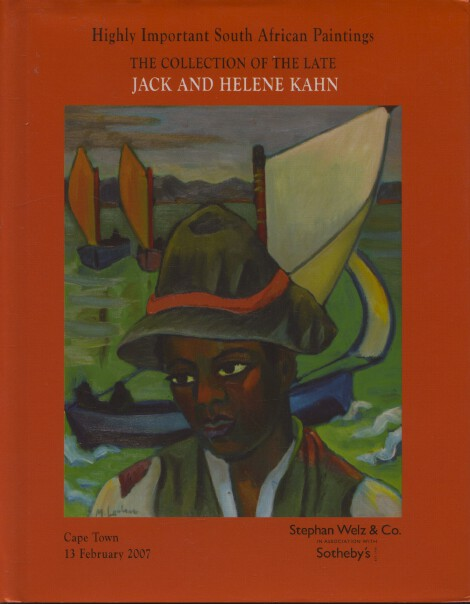 Sothebys Feb 2007 Kahn Collection of Highly Important South African Paintings HB