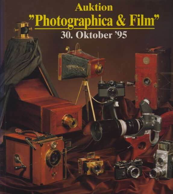Auction Team Koln October 1995 Photographica & Film