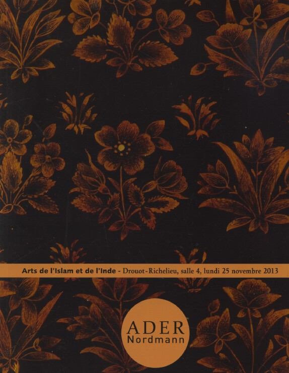 Ader Nordmann November 2013 Islamic and Indian Art