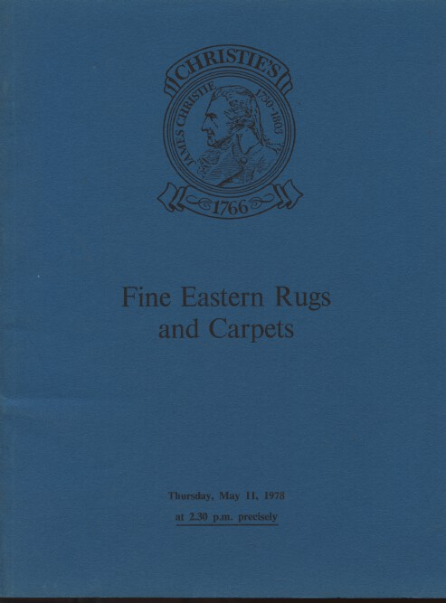 Christies May 1978 Fine Eastern Rugs and Carpets