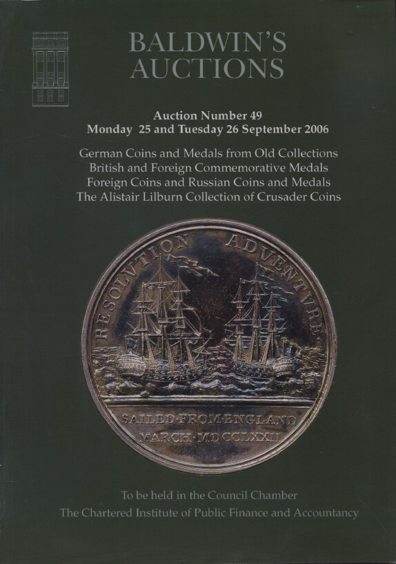 Baldwins Sept 2006 German & Russian Coins & Medals, Lilburn Collection Coins etc