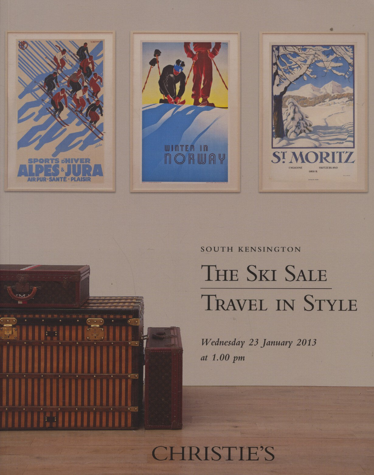 Christies January 2013 The Ski Sale - Travel in Style