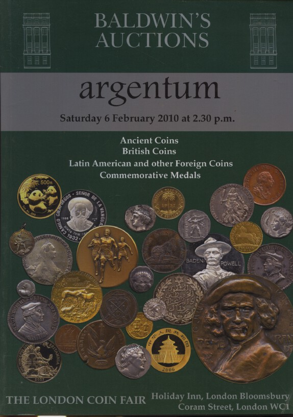 Baldwins Feb 2010 Ancient, British, Latin American & Foreign Coins, Medals