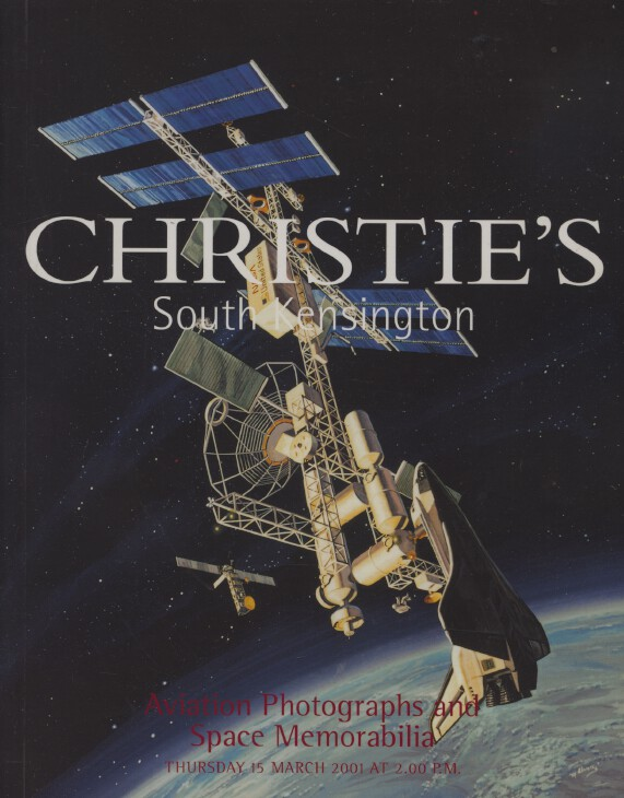 Christies March 2001 Aviation Photography & Space Memorabilia