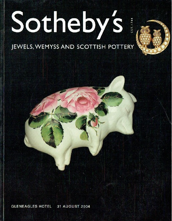 Sothebys August 2004 Jewels, Silver and Scottish Pottery