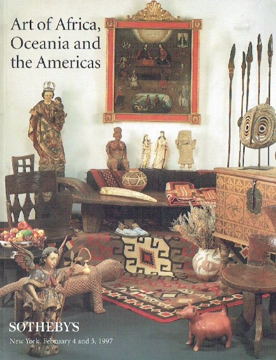 Sothebys February 1997 Art of Africa, Oceania and The Americas