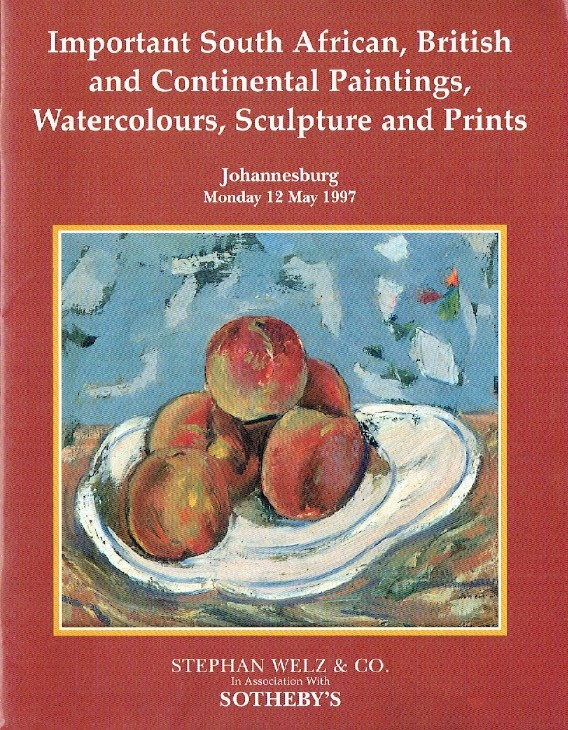 Sothebys May 1997 Important South African, British, Continental Paintings