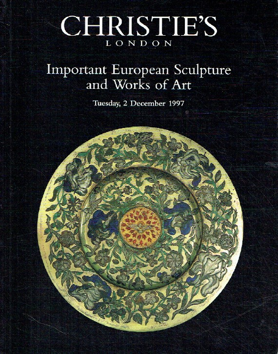 Christies 1997 Important European Sculpture, Works of Art