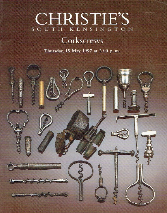 Christies May 1997 Corkscrews