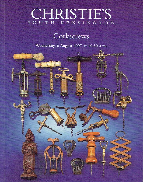 Christies August 1997 Corkscrews