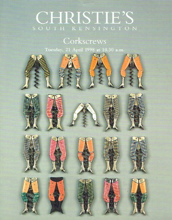 Christies April 1998 Corkscrews