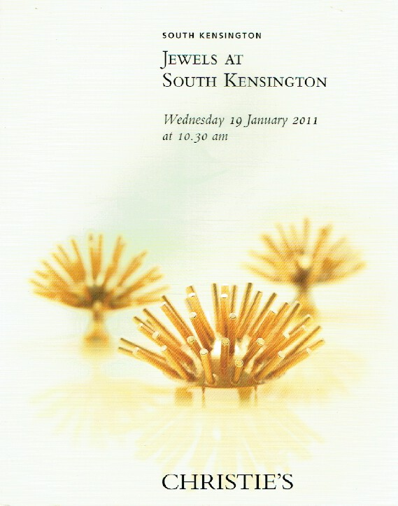 Christies January 2011 Jewels at South Kensington