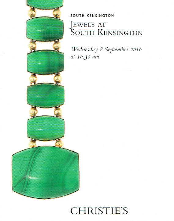 Christies September 2010 Jewels at South Kensington