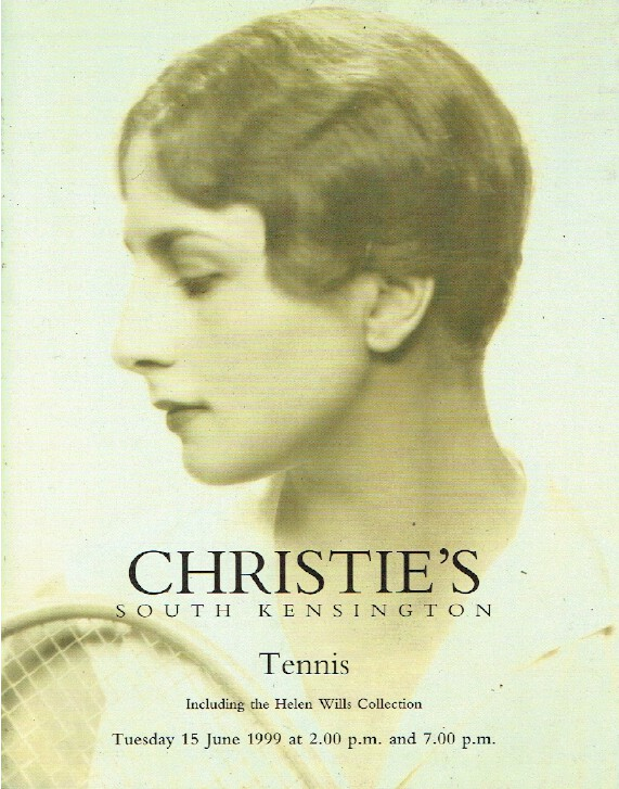 Christies June 1999 Tennis including The Helen Wills Collection