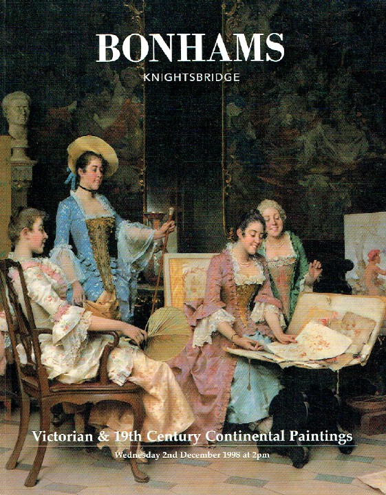 Bonhams December 1998 Victorian & 19th Century Continental Paintings