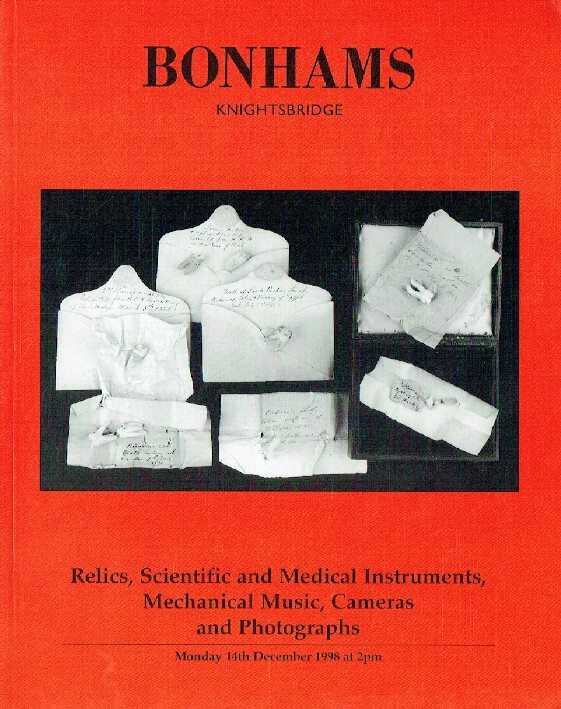 Bonhams December 1998 Scientific and Medical Instruments, Music & Cameras