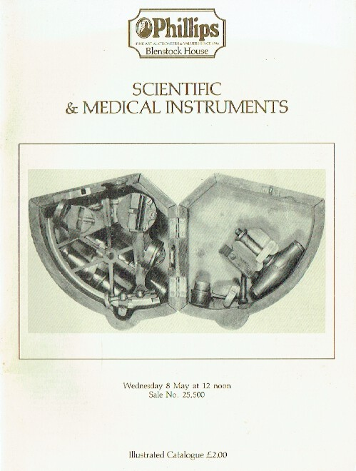 Phillips May 1985 Scientific and Medical Instruments