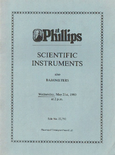 Phillips May 1980 Scientific Instruments also Barometers