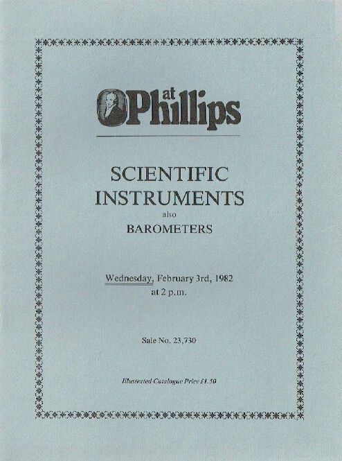 Phillips February 1982 Scientific Instruments also Barometers