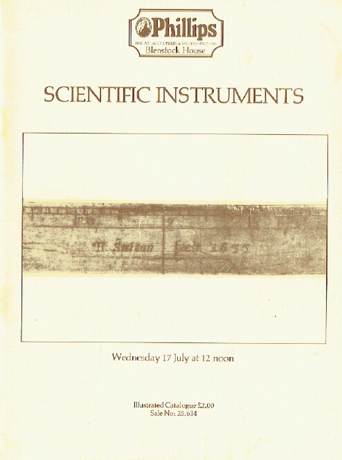 Phillips July 1985 Scientific Instruments