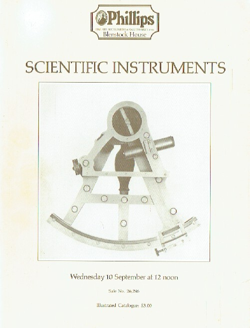 Phillips September 1986 Scientific Instruments