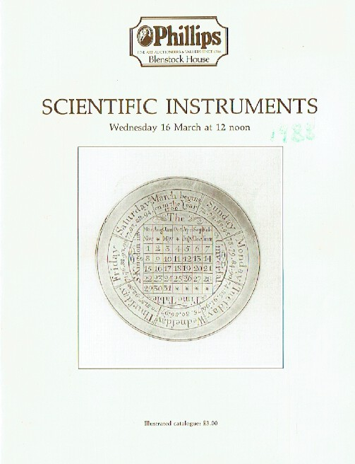 Phillips March 1988 Scientific Instruments
