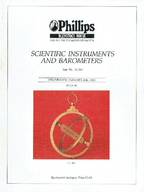 Phillips January 1983 Scientific Instruments also Barometers