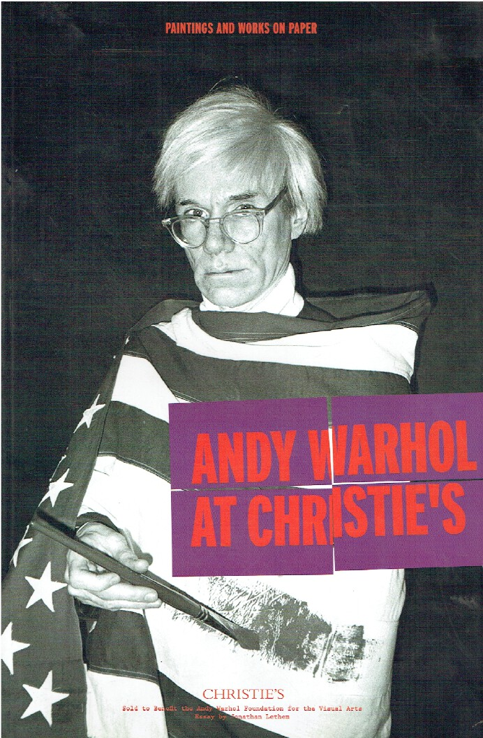 Christies November 2012 Andy Warhol at Christie's Paintings and Works on Paper