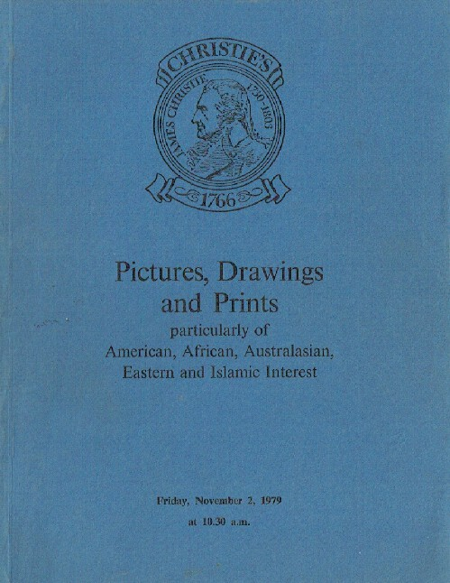 Christies November 1979 Pictures & Prints American, African, Australasian