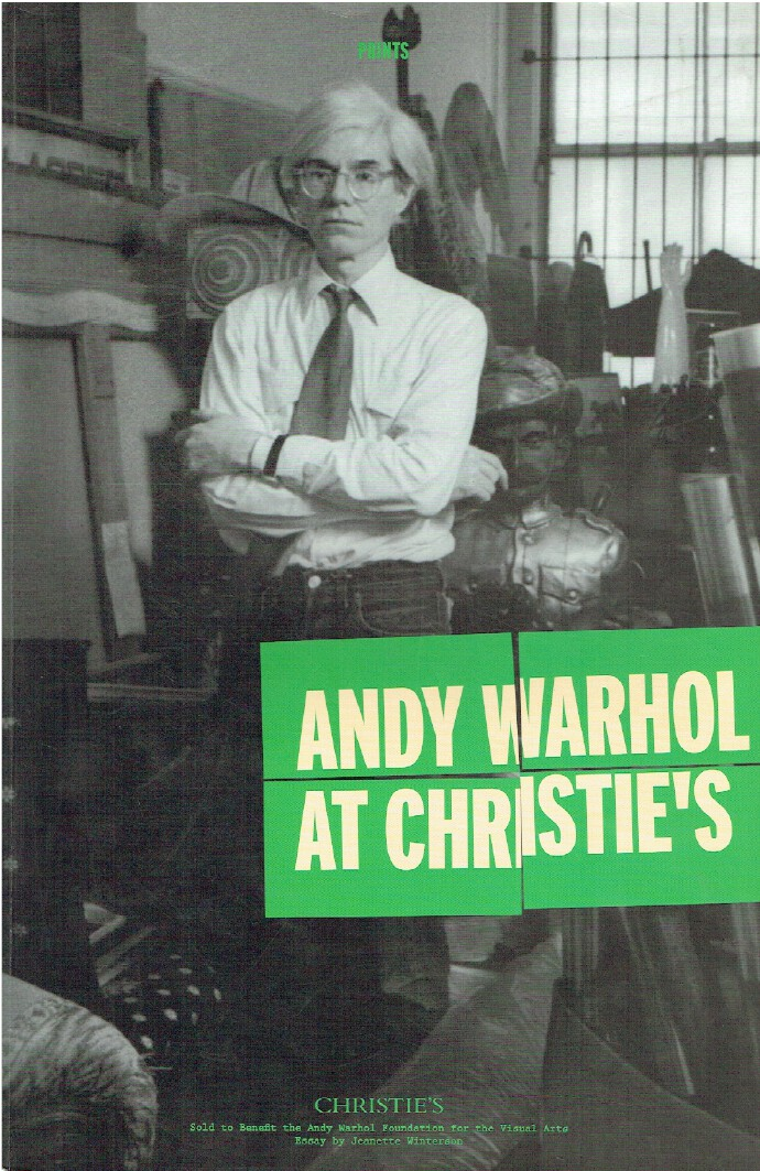 Christies November 2012 Andy Warhol at Christie's Prints