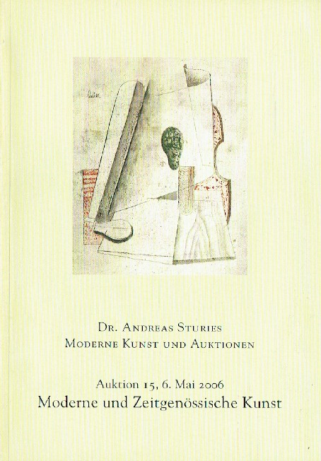 Andreas Sturies May 2006 Modern & Contemporary Art